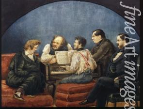 Der komponist michail i glinka 1804 1857 und seine freunde