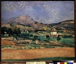 Cézanne, Paul - Tal am Berg Sainte-Victoire