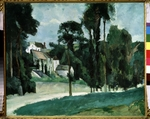 Cézanne, Paul - Weg in Pontoise