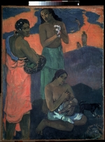 Gauguin, Paul Eugéne Henri - Frauen am Meer (Die Mutterschaft)