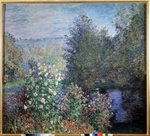 Monet, Claude - Gartenecke in Montgeron
