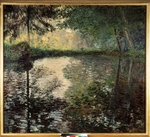 Monet, Claude - Teich in Montgeron