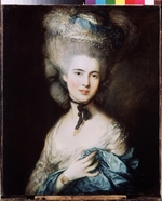 Gainsborough, Thomas - Dame in Blau (Die Herzogin von Beaufort)