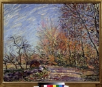 Sisley, Alfred - Am Waldrand in Fontainebleau