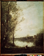 Corot, Jean-Baptiste Camille - Teich in Ville d'Avray