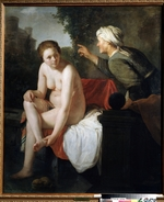 Flinck, Govaert - Das Bad der Bathseba