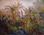 Monet, Claude - Garten in Bordighera, Impression am Morgen