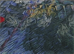 Boccioni, Umberto - States of Mind II: Those Who Go