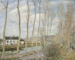 Sisley, Alfred - Canal du Loing