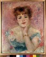 Renoir, Pierre Auguste - Portrait of the actress Jeanne Samary