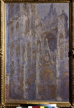 Monet, Claude - The Rouen Cathedral. Noon (Le Portal et la Tour D'Albane)