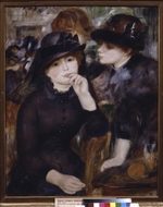 Renoir, Pierre Auguste - Two Girls in Black