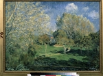 Sisley, Alfred - The garden of Monsieur Hoschedé in Montgeron