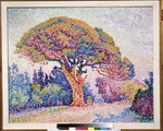 Signac, Paul - Le Pin de Bertaud at Saint-Tropez
