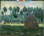 Monet, Claude - Haystack in Giverny