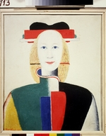 Malevich, Kasimir Severinovich - A girl with a comb