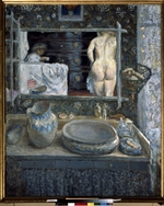 Bonnard, Pierre - Mirror above a washstand