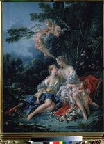 Boucher, François - Jupiter and Callisto
