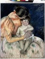 Cassatt, Mary - Mother and child