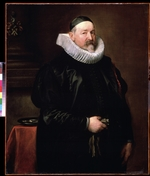 Dyck, Sir Anthony van - Portrait of Adriaen Stevens