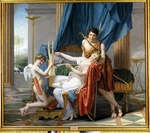 David, Jacques Louis - Sappho, Phaon and Cupid