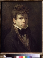 David, Jacques Louis - Portrait of a young man (Portrait of the artist Ingres?)
