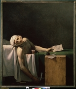 David, Jacques Louis - The Death of Marat