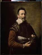 Fetti, Domenico - Portrait of an Actor (Claudio Monteverdi, Tristano Martinelli or Francesco Andreini)