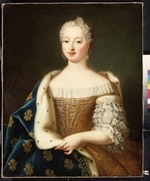 French master - Portrait of Marie Antoinette (1755-1793), Archduchess of Austria and Queen of France and Navarre