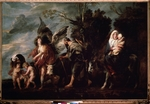Jordaens, Jacob - The Flight into Egypt