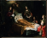 Italian master - Death of Saint Joseph