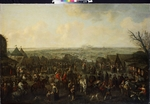 Meulen, Adam Frans, van der - The siege of a town