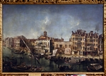 Marieschi, Michele Giovanni - View of the Canal Grande from the Fondamenta Del Vin
