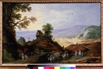 Momper, Joos de, the Younger - Landscape with a Chapel on a Hill