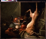 Moerkerke, Jan Baptist, van - Still life with a Hare