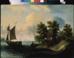 Dutch master - A sea landscape