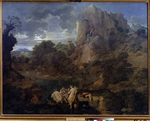 Poussin, Nicolas - Landscape with Hercules and Cacus