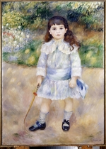Renoir, Pierre Auguste - Child with a Whip