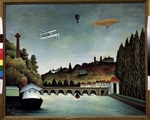 Rousseau, Henri Julien Félix - View of the Sévres Bridge and the Hills of Clamart, Saint-Cloud and Bellevue