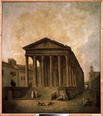 Robert, Hubert - The Square House in Nîmes