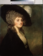Romney, George - Portrait of Mrs Harriet Greer