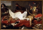 Snyders, Frans - Still life with a swan
