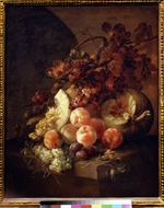 Son, Jan Frans, van - Still life with peaches