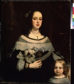 Sustermans, Justus (Giusto) - Portrait of a Lady and a little Girl