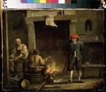 Teniers, David, the Younger - At the oven