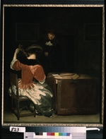 Ter Borch, Gerard, (Circle of) - The Music Lesson
