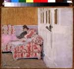 Vuillard, Édouard - On the Sofa (The white room)