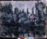 Cézanne, Paul - The banks of the Marne (Villa on the Bank of a River)