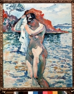 Manguin, Henri Charles - A Bather