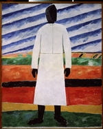 Malevich, Kasimir Severinovich - Farmer's wife with the black face